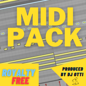 MIDI PACK Royalty Free produced by DJ OTTI