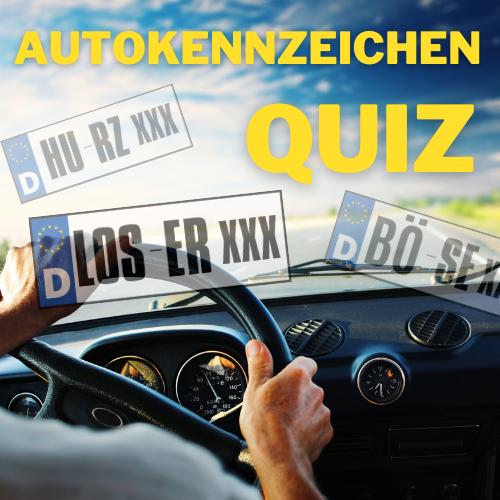 Autokennzeichen Quiz